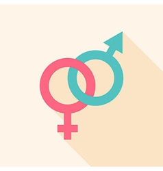 Gender sign vector