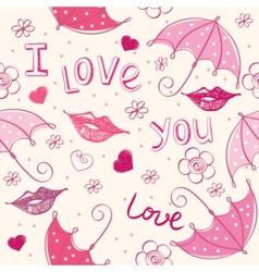 Love seamless vector