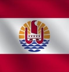 French polynesia flag vector
