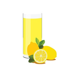 Lemon juice vector