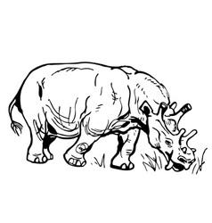 Prehistorical animal vector