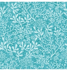 Underwater plants seamless pattern background vector