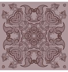 Lace background mandala vector