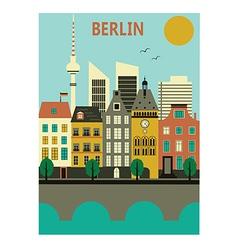 Berlin city vector