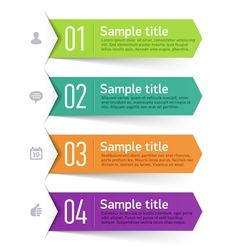 Text box infographics element vector