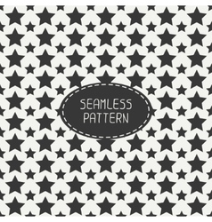 Geometric seamless pattern with stars wrapping vector