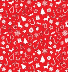 Christmass seamless pattern vector