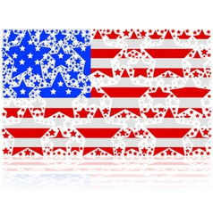 United states stars vector