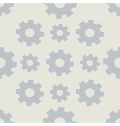 Seamless background with gears vector