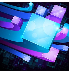 3d abstract background vector