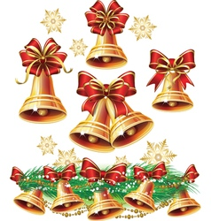 Christmas bell vector