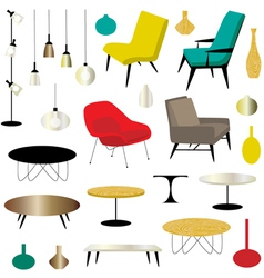 Furniture clipart vector