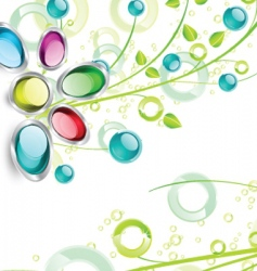 Nature gems vector