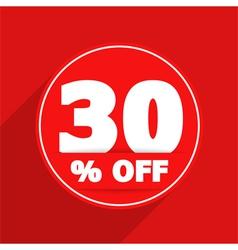 Discount banner vector