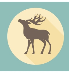 - running deer vector