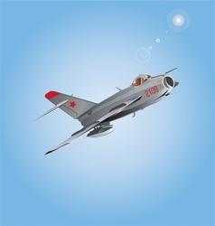 Russian plane copy vector