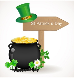 St patrick day background vector