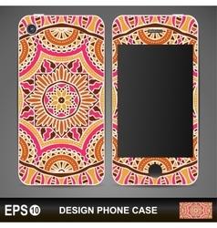 Phone case design vector