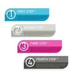 Text box infographics element vector