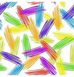 Abstract grunge texture seamless pattern colorful vector