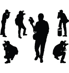 Photographers - vector