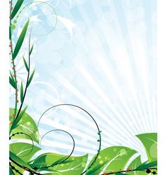 Opulent vegetation vector