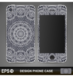 Phone case design vector
