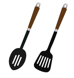 Spoon and turner vector
