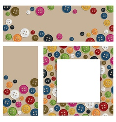 Button banners vector