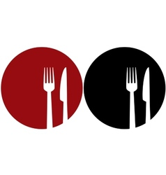 Plate with fork and knifexjadehigfsydzrrnxqwt vector