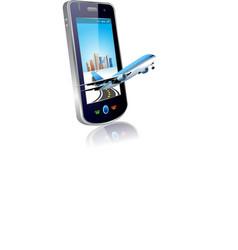 Mobile plane vector