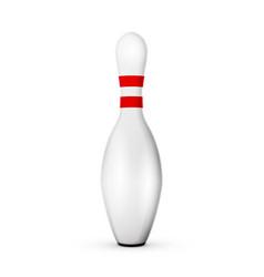 Bowling pin vector