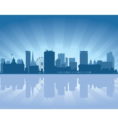 Birmingham skyline vector