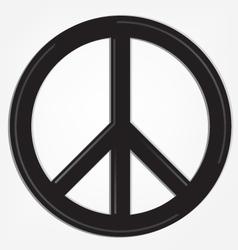 Peace sign logo vector