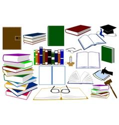 Color books vector