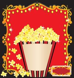 Movie birthday party vector