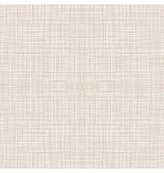 Seamless natural linen pattern vector
