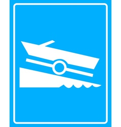 Boat icons vector