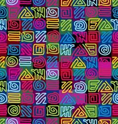 Afrikan pattern vector