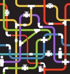 Pipeline vector