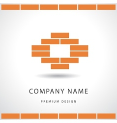 Construction and repair real estate company logo vector