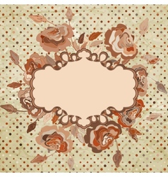 Floral vintage background eps 8 vector