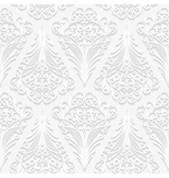 Seamless floral pattern in traditional style vector