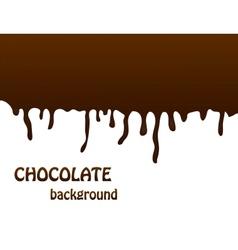Chocolate background editable vector