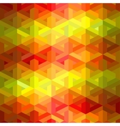 Retro seamless pattern of geometric shapes vector