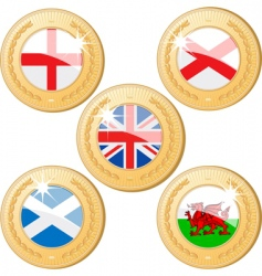 United kingdom medals vector