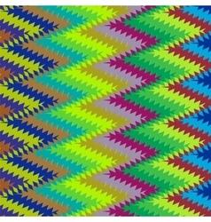 Colorful retro ornament vector