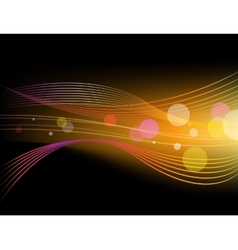 Shiny abstract horizontal background vector