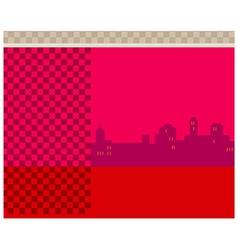Cityscape copyspace vector