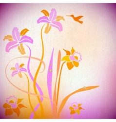 Artistic autumn backdrop background bouquet vector